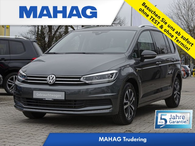 Volkswagen Touran 2.0 TDI IQ.DRIVE 7 Sitzer Rückfahr/Navi/ACC/LED/Sitzhzg. DSG, Jahr 2020, Diesel