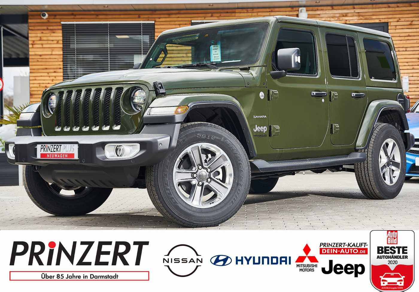 Jeep Wrangler ULTD MY21 2.0 8AT 4WD 'Sahara' Premium, Jahr 2021, Benzin