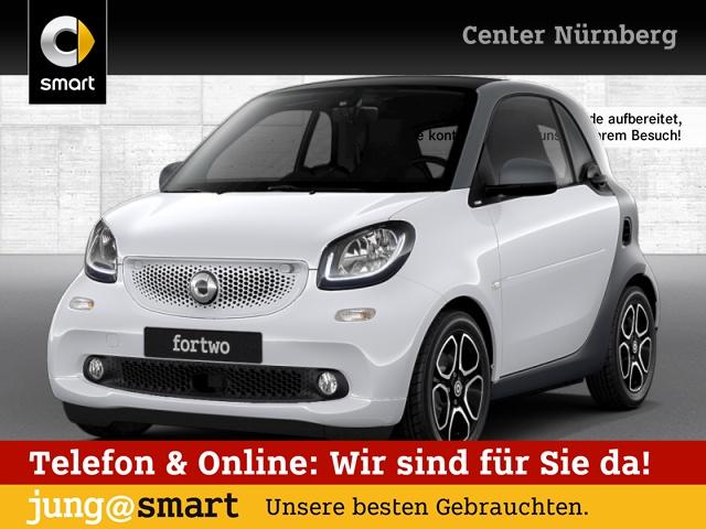 smart fortwo coupé 52kW prime DCT cool&Media SHZ Pano, Jahr 2017, Benzin