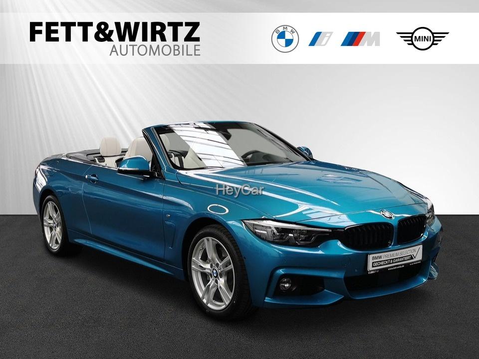 BMW 435d xDrive Cabrio M Sport Leas. ab 759,- br.o.A, Jahr 2020, Diesel