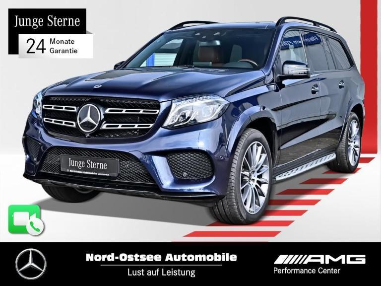 Mercedes-Benz GLS 500 4M AMG line COMAND Distronic AHK Keyless, Jahr 2017, Benzin