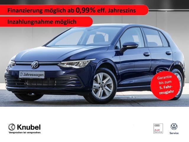 Volkswagen Golf VIII Life 1.5 TSI*LED*Navipro*SHZ*ACC*Garan, Jahr 2020, Benzin