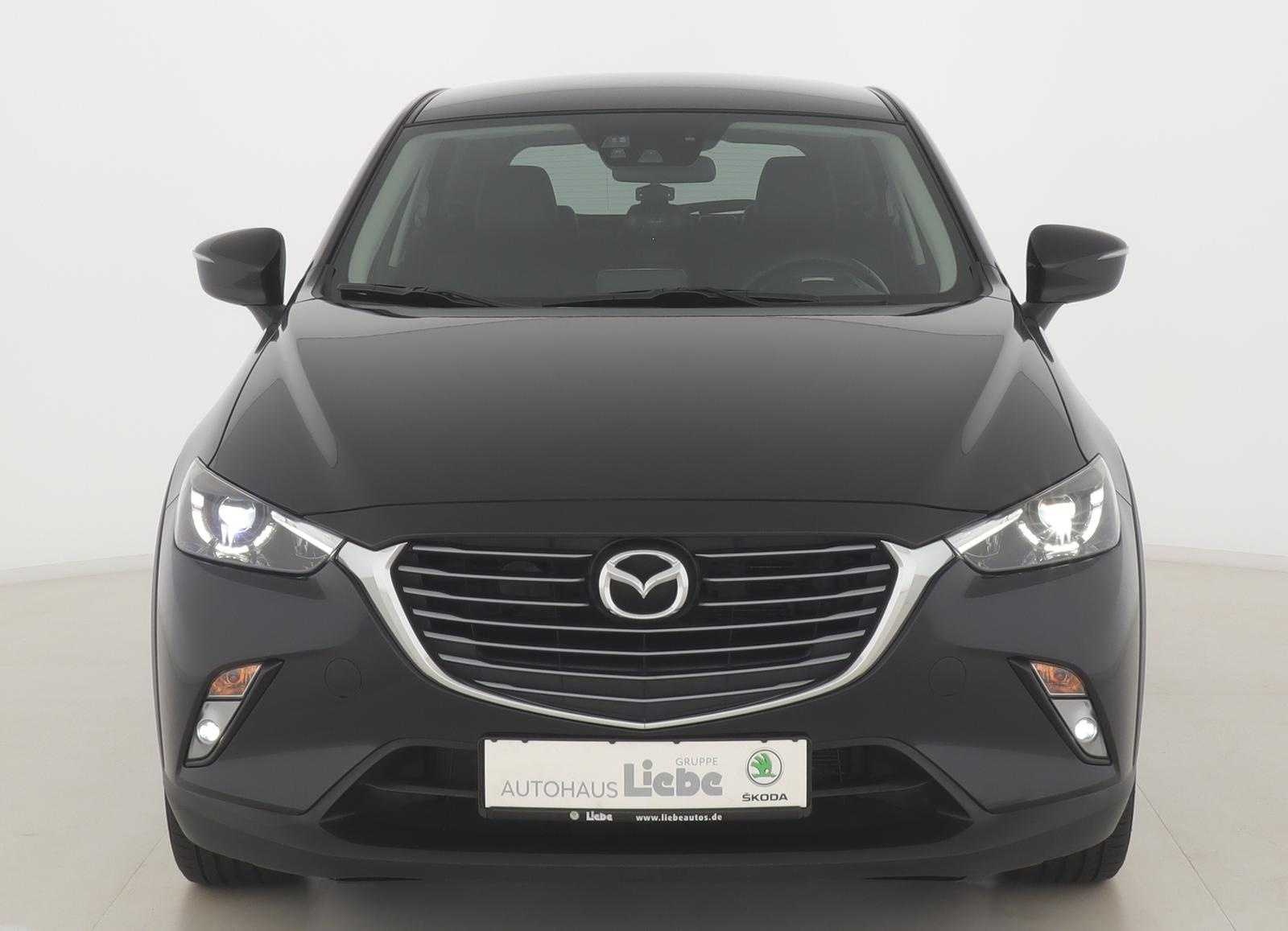 Mazda CX-3 SPORTS-LINE NAVI HEADupDISPLAY SHZ LEDuvm, Jahr 2017, Benzin