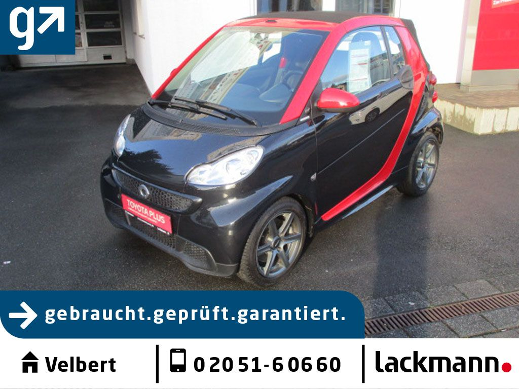 smart smart fortwo cabrio softouch passion mhd*Shz*, Jahr 2012, Benzin