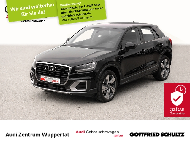 Audi Q2 1.0TFSI VIRTUAL CONNECT NAV LED PDC BT 18ZOLL Design, Jahr 2018, Benzin