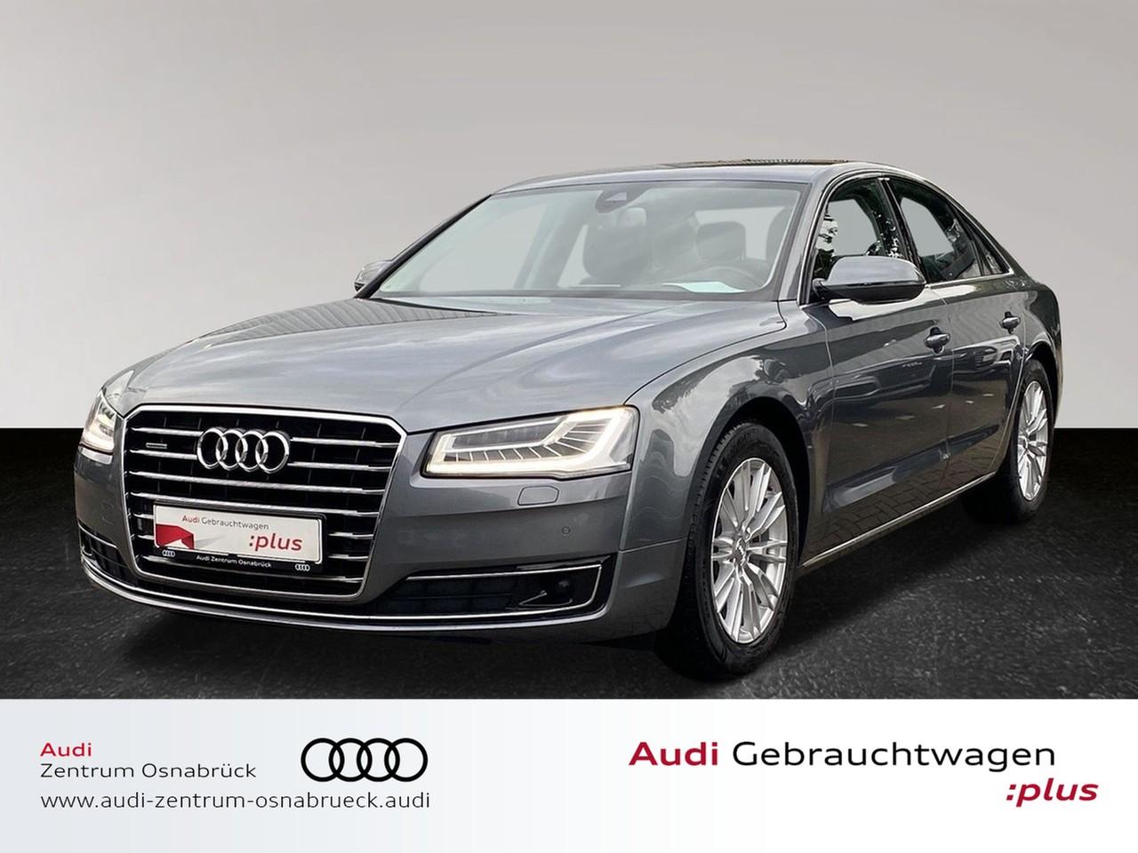 Audi A8 3.0 TDI tiptronic quattro ACC Nachtsicht HUDNavi RFK Massage Sitzbelüftung Standheizung, Jahr 2014, Diesel