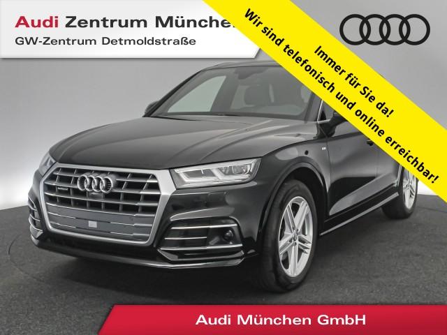 Audi Q5 2.0 TDI qu. Sport S line HUD Virtual Standhz. LED ACC Luftfw. Navi Leder S tronic, Jahr 2017, Diesel
