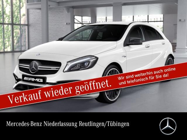 Mercedes-Benz A 45 AMG 4Matic Sportpaket Bluetooth LED Klima, Jahr 2017, Benzin