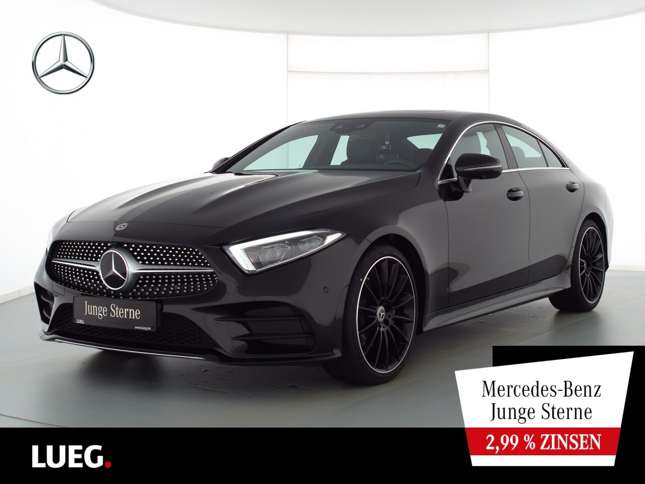 Mercedes-Benz CLS 220 d AMG+MBUX+SHD+Mbeam+Distr+20''+Mem+360G, Jahr 2019, Diesel