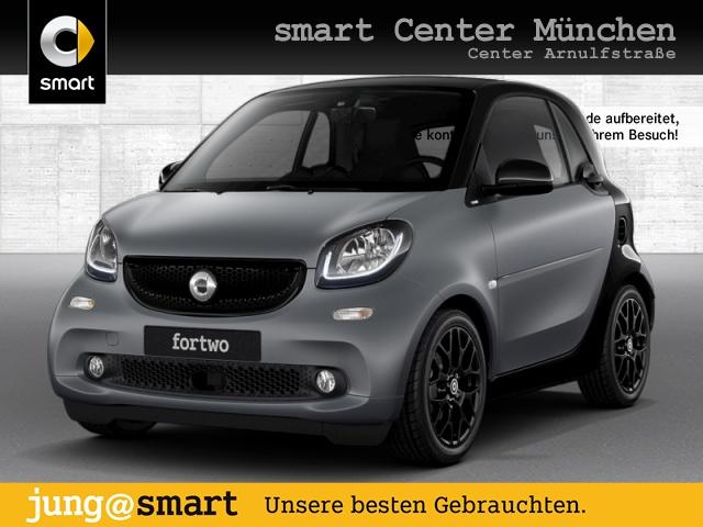 smart fortwo coupé 66kW prime BRABUS DCT cool&Media SHZ, Jahr 2017, Benzin