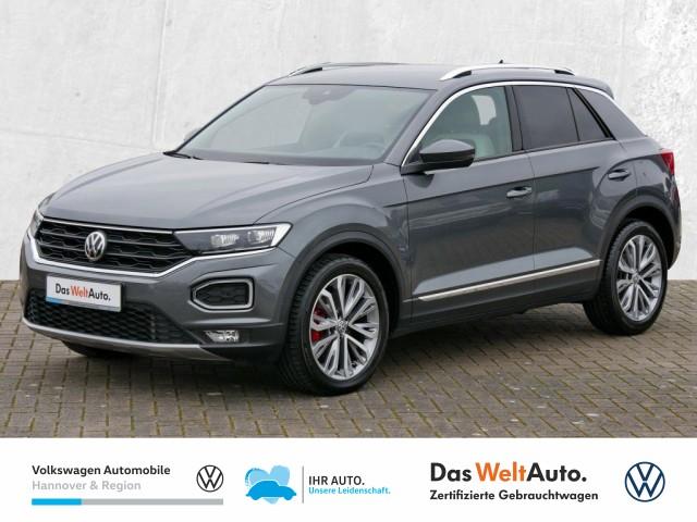 Volkswagen T-Roc 2.0 TSI DSG Highline Navi LED Klima ACC PDC, Jahr 2018, Benzin