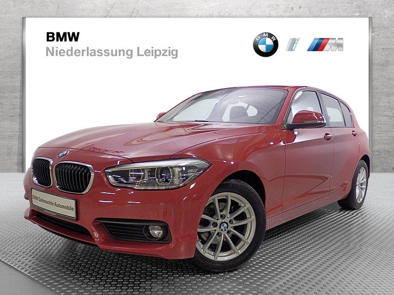BMW 118i 5-Türer EURO6 Advantage LED Tempomat USB Klimaaut. Shz, Jahr 2017, Benzin