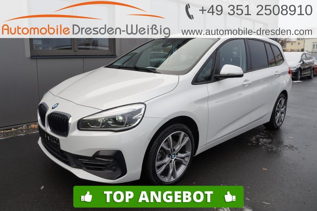 BMW 216 Gran Tourer i Sport Line*Navi*Kamera*HiFi*, Jahr 2019, Benzin