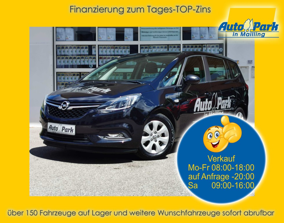 Opel Zafira 1.6 CDTI 7-Sitzer~AGR-Sitze~2xPDC~NAVI, Jahr 2018, Diesel