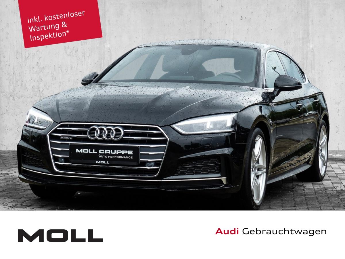 Audi A5 Sportback Sport S Line B&O Virtuell LED Navi, Jahr 2018, Diesel