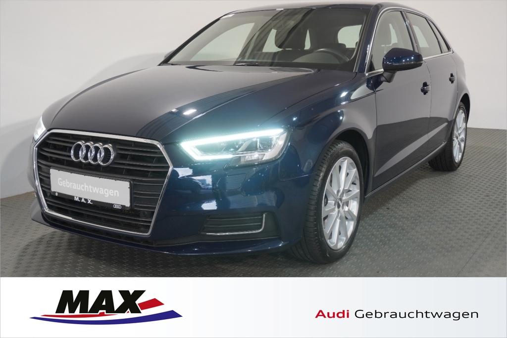 Audi A3 Sportback 2.0 TDI design LED NAV KAMERA ALU, Jahr 2017, Diesel