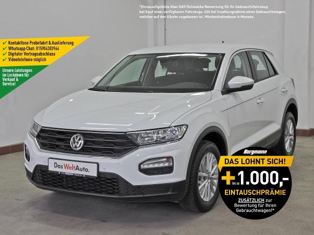 Volkswagen T-ROC 1.0TSI, FrontAssist,PDC, Jahr 2018, Benzin