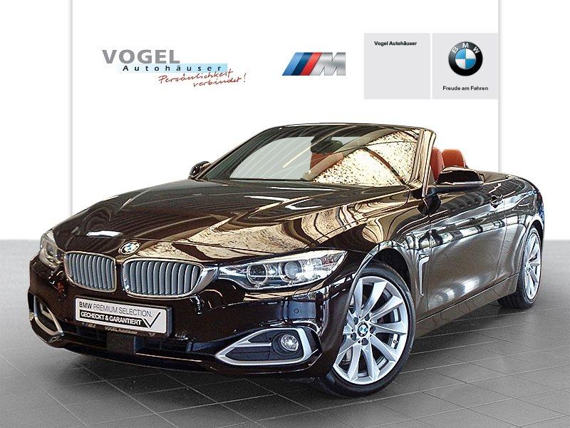 BMW 425d Cabrio Modern Line Euro 6 Navi Prof RFK PDC Klima SHz AHK Xenon Aktiver Tempomat Lichtpaket, Jahr 2014, Diesel