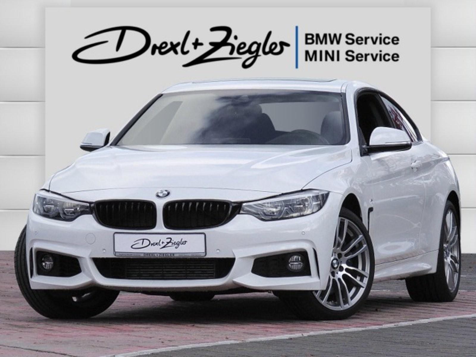 BMW 435d xDrive Coupe M Sport Leder HUD DAB H&K GSD, Jahr 2019, Diesel