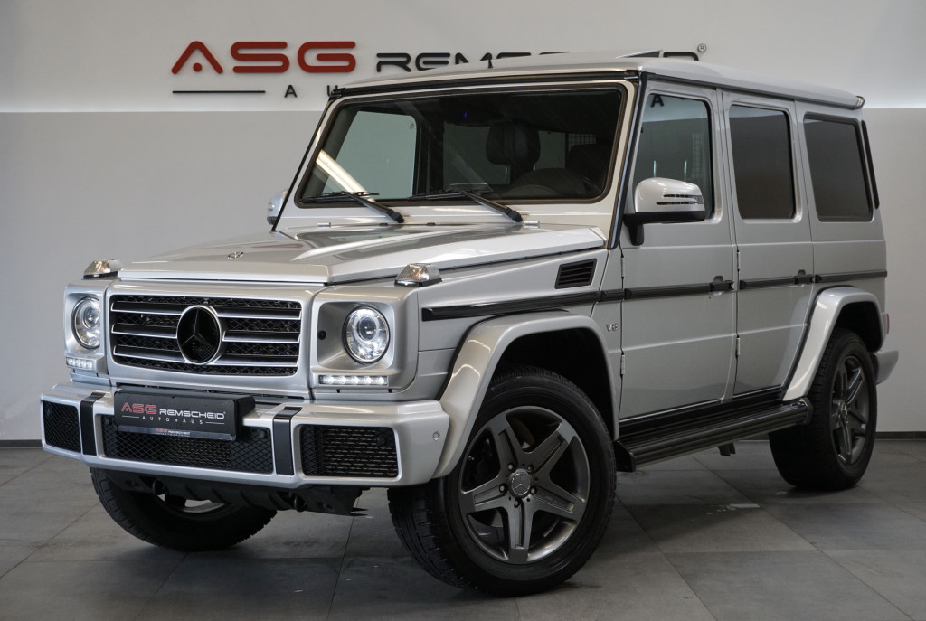 Mercedes-Benz G 500 AMG Sportpaket *S-AGA *HK *AHK*Navi*GSD*, Jahr 2016, Benzin