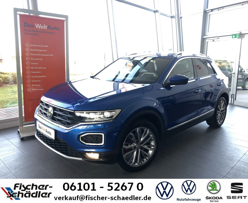 Volkswagen T-ROC Sport 1.5TSI*Navi*LED*Reariew*ACC*SpurAssi, Jahr 2019, Benzin