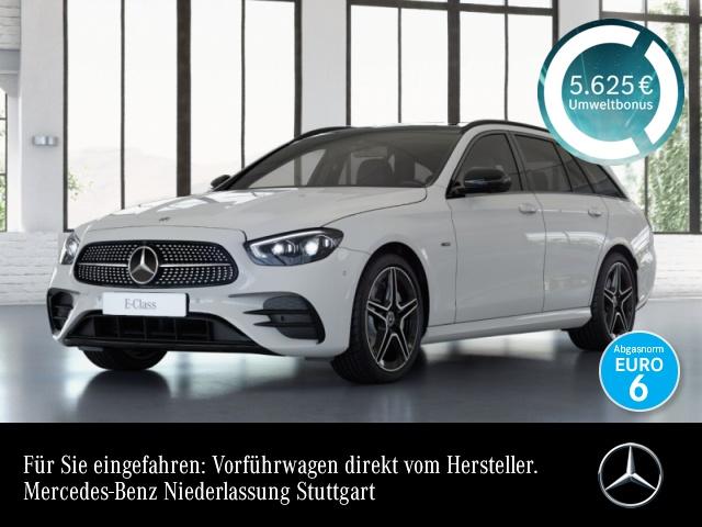 Mercedes-Benz E 300 de T AMG+Night+Pano+360+AHK+MultiBeam+Totw, Jahr 2020, Hybrid_Diesel