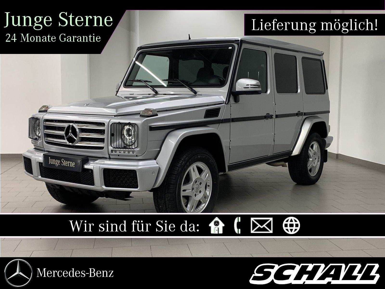 Mercedes-Benz G 350 d STANDHZG+COMAD+RÜCKFAHRKAMERA+1.HAND, Jahr 2016, Diesel