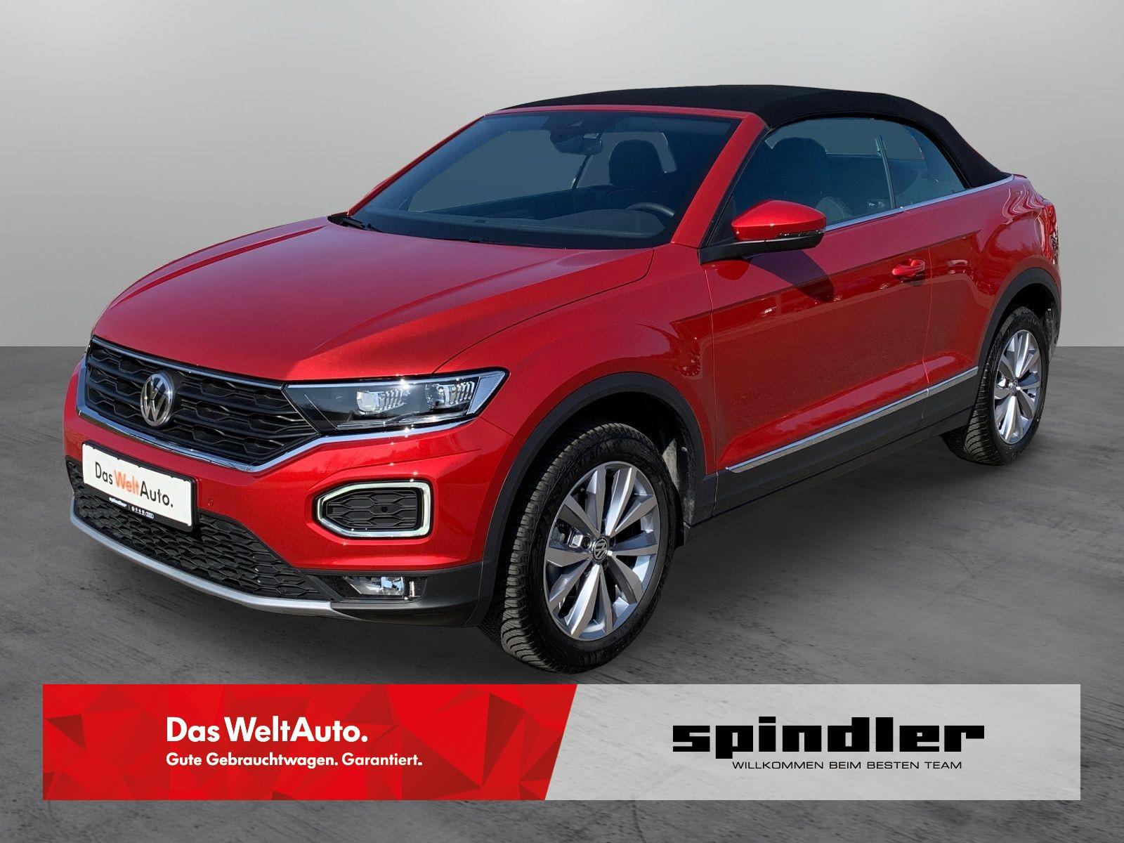 Volkswagen T-Roc Cabriolet 1.0 TSI Style LED+ACC+PDC, Jahr 2020, Benzin