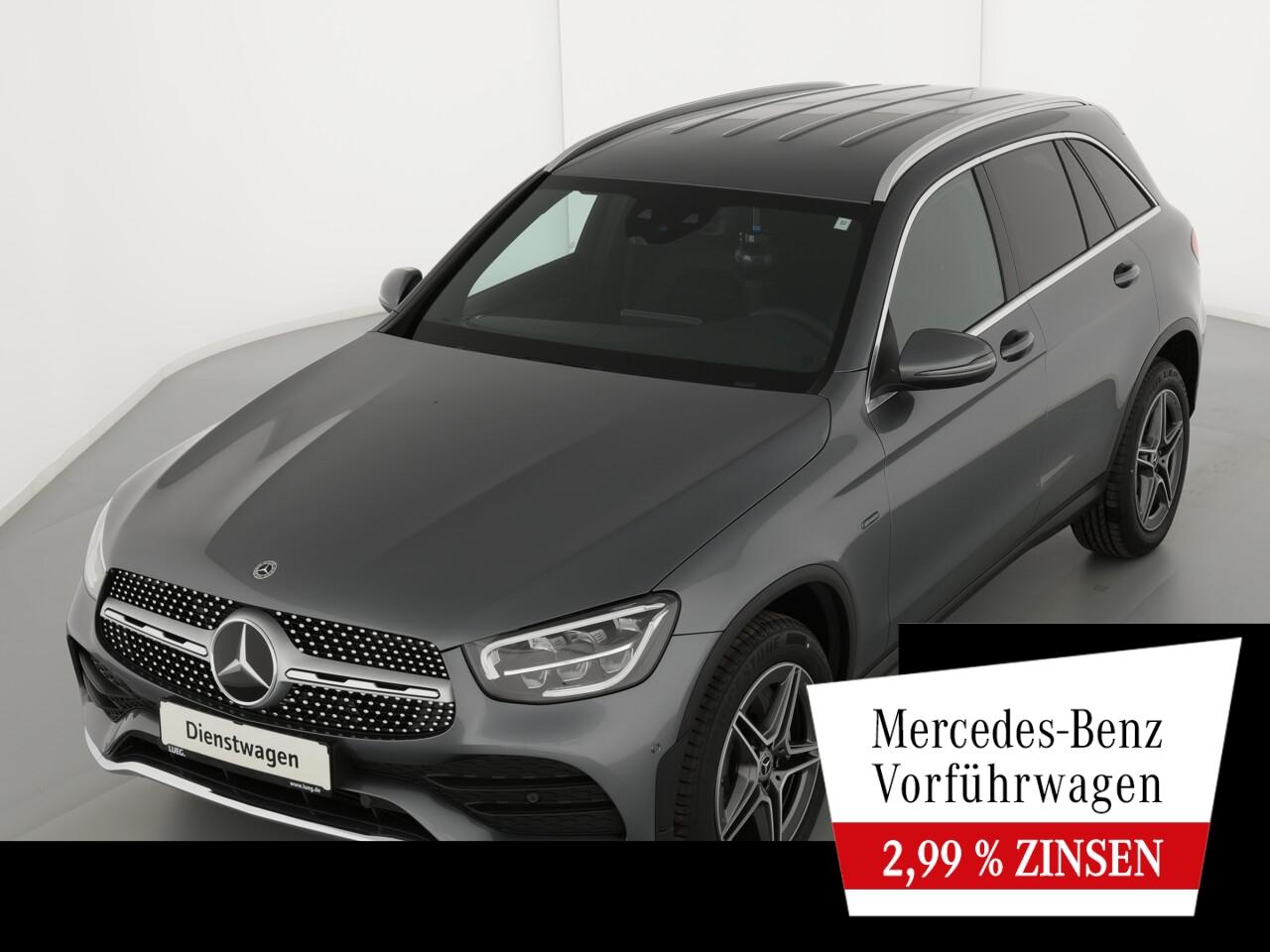 Mercedes-Benz GLC 300 de 4M AMG+FAHRASS+AHK+KAMERA+LED+PTS+SHZ, Jahr 2021, Hybrid_Diesel