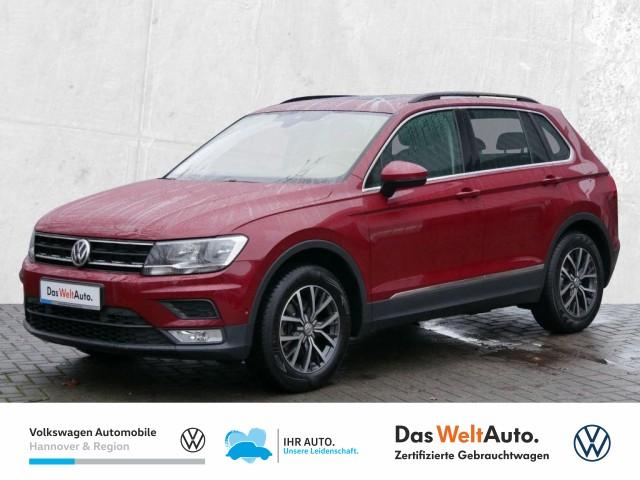 Volkswagen Tiguan 1.4 TSI DSG BMT ACT Comfortline Navi Pano Klima Sitzheiz PDC, Jahr 2016, Benzin