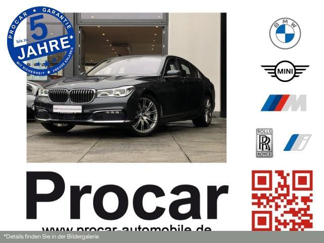 BMW 740d xDrive Navi Prof. RFK.DA+ HuD B&W Laser DAB, Jahr 2016, Diesel