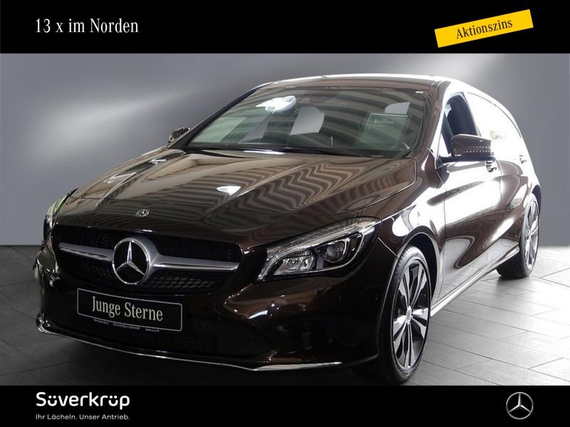 Mercedes-Benz CLA 200 SB Urban/LED/AHK/Navi/PDC, Jahr 2017, Benzin