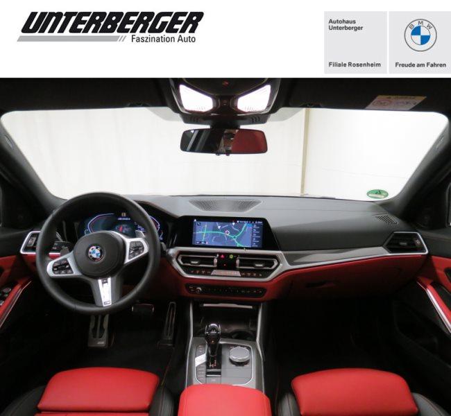 BMW M340d xDrive Limousine M Lederlenkrad, Head-Up, Jahr 2020, Diesel