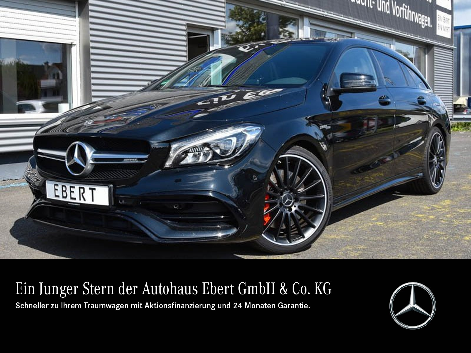 Mercedes-Benz CLA 45 AMG SB 4M DRIVER'S+COMAND+NIGHT+LED+PSD, Jahr 2018, Benzin