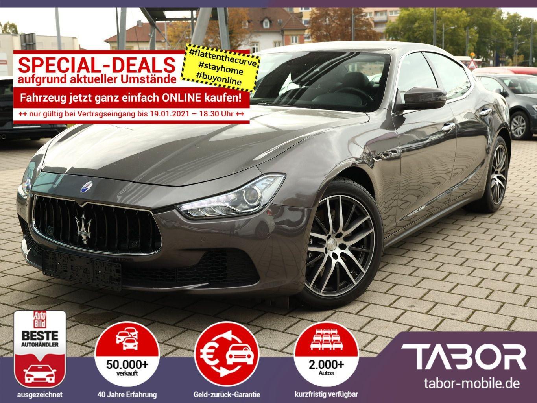 Maserati Ghibli 3.0 V6 D275 AUT Leder Nav SchiebeD, Jahr 2017, Diesel