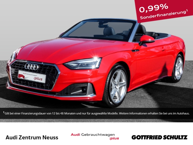 Audi A5 Cabriolet 35 TDI Advanced S-Tronic LED, Clim, N Navi-Paket Anschlussgarantie 3 Jahre 100.000 KM, Jahr 2020, Diesel