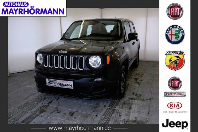 Jeep Renegade Sport 1.6l 110PS E-torQ**Klima**, Jahr 2016, petrol