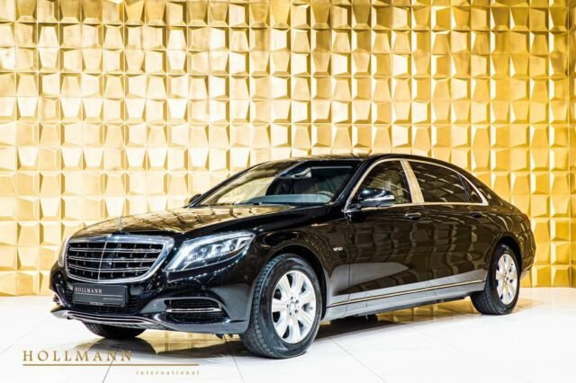Mercedes-Benz S 600 Maybach GUARD B7/VR9 ARMOURED only Export, Jahr 2017, Benzin