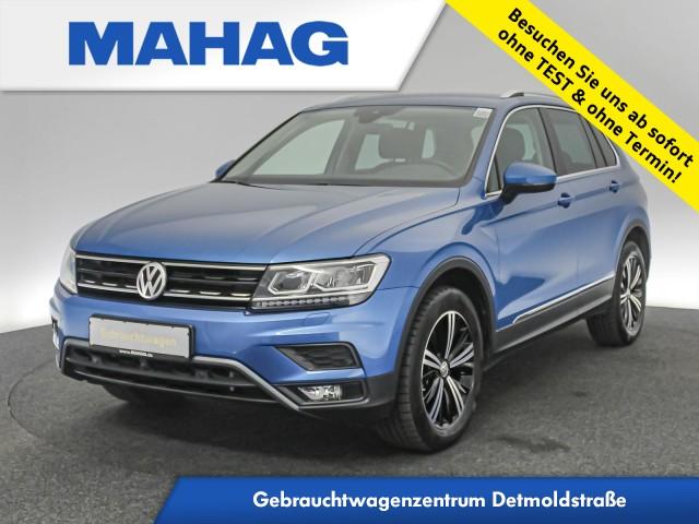 Volkswagen Tiguan 2.0 TSI 4mot Highline Offroad Navi LED HUD AHK DSG, Jahr 2018, Benzin