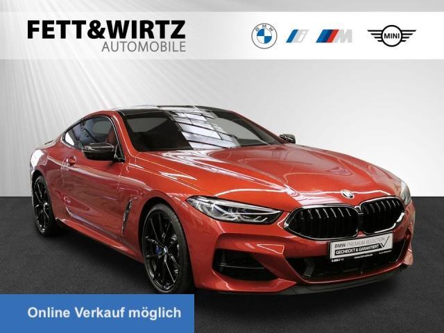 BMW M850i xDrive Coupe Navi Laser TV+ H/K DAB 20''LM, Jahr 2019, Benzin