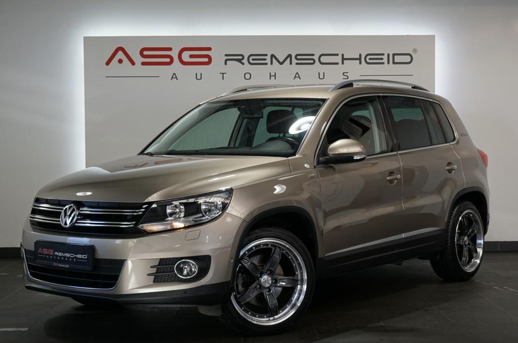Volkswagen Tiguan 1.4 DSG Cup Sport & Style *Navi *56TKM *, Jahr 2014, Benzin