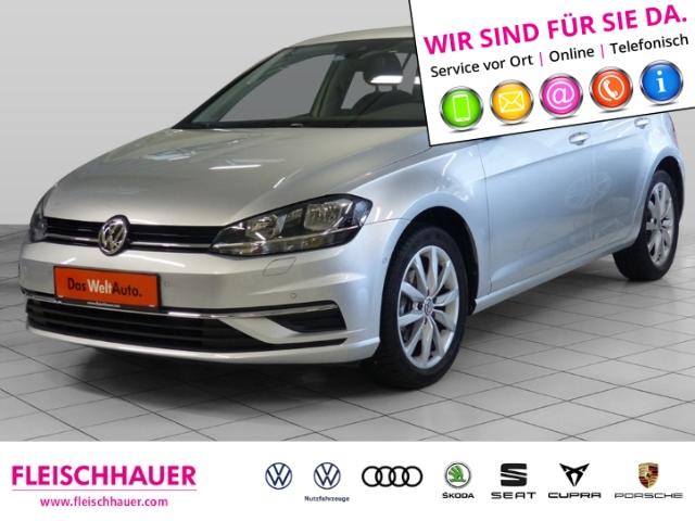 Volkswagen Golf VII IQ.DRIVE 1.5 TSI Navi+connect+17''+PDC+ACC+SHZ, Jahr 2019, Benzin