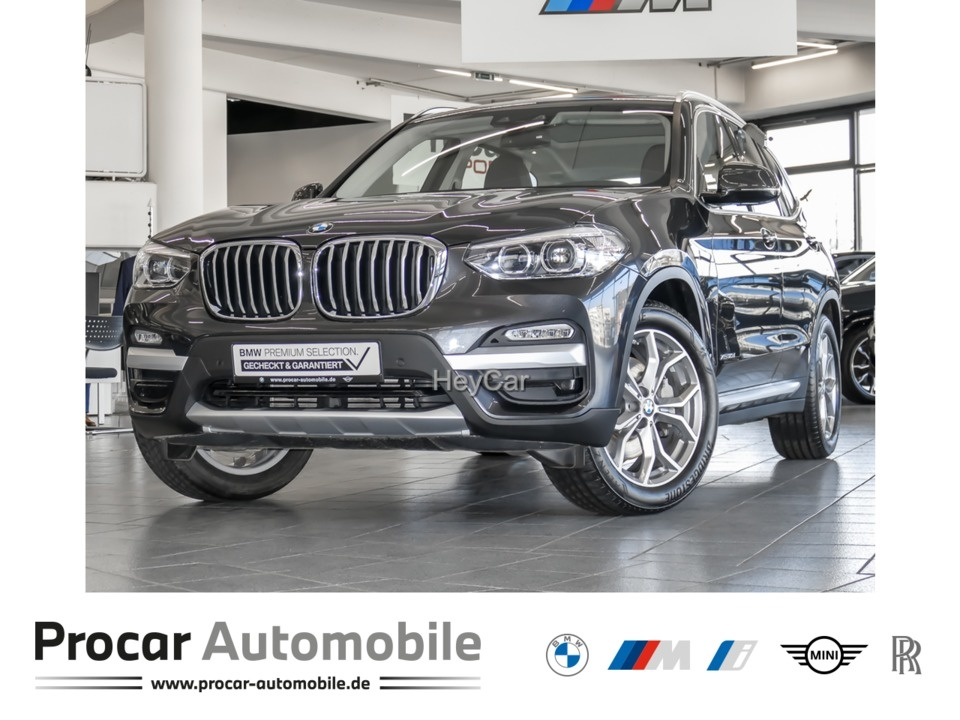 BMW X3 xDrive30d xLine AT Nav Pano AHK el.Sitze 19'', Jahr 2017, Diesel