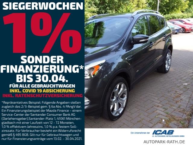 Ford Kuga Titanium 2,0l TDCI AWD 6-Gang Automatik, Navi,Xenon AHK, Jahr 2016, Diesel