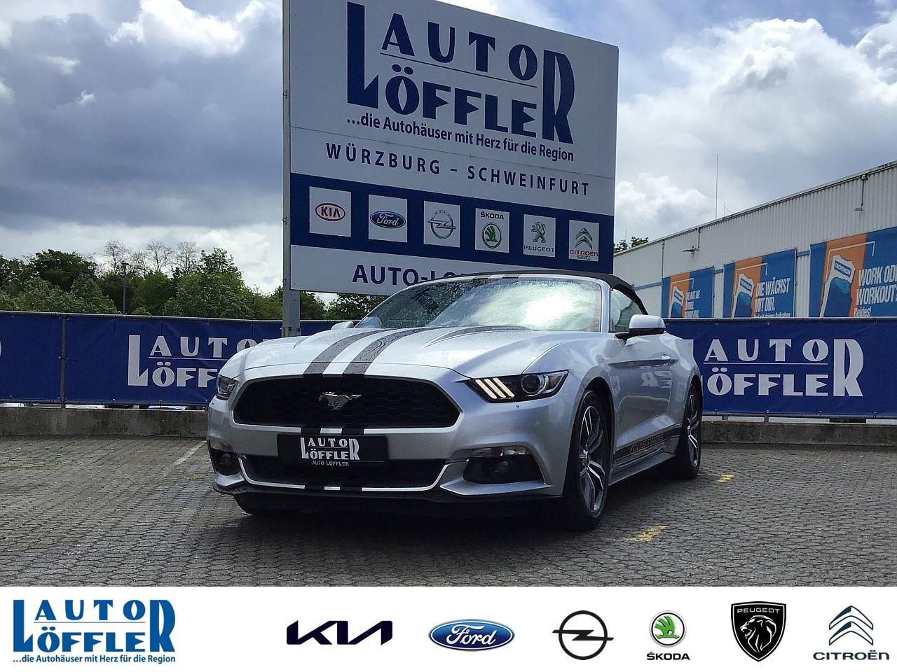 Ford Mustang 2.3 l Convertible - Navi RFK Automatik, Jahr 2017, Benzin