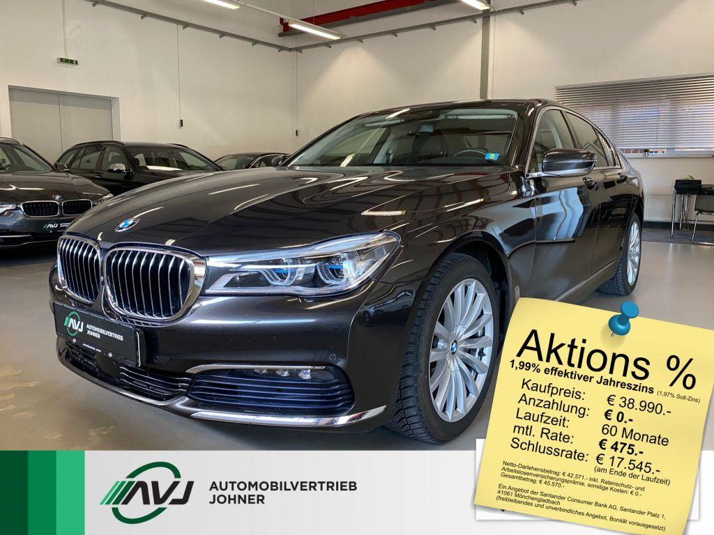 BMW 740d xDrive | 360*Cam | Nappa | Laser | AHK, Jahr 2016, Diesel