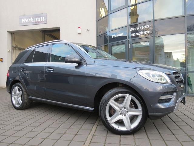 Mercedes-Benz ML 350 CDI BT AMG Airmatik AHK/STDHZG/ACC/KAM/SD, Jahr 2013, Diesel