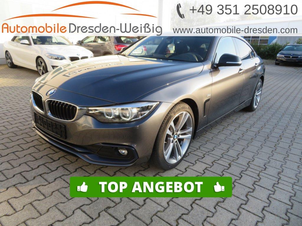 BMW 418 Gran Coupé d Sport Line*Navi*AHK*LED*PDC*, Jahr 2018, Diesel