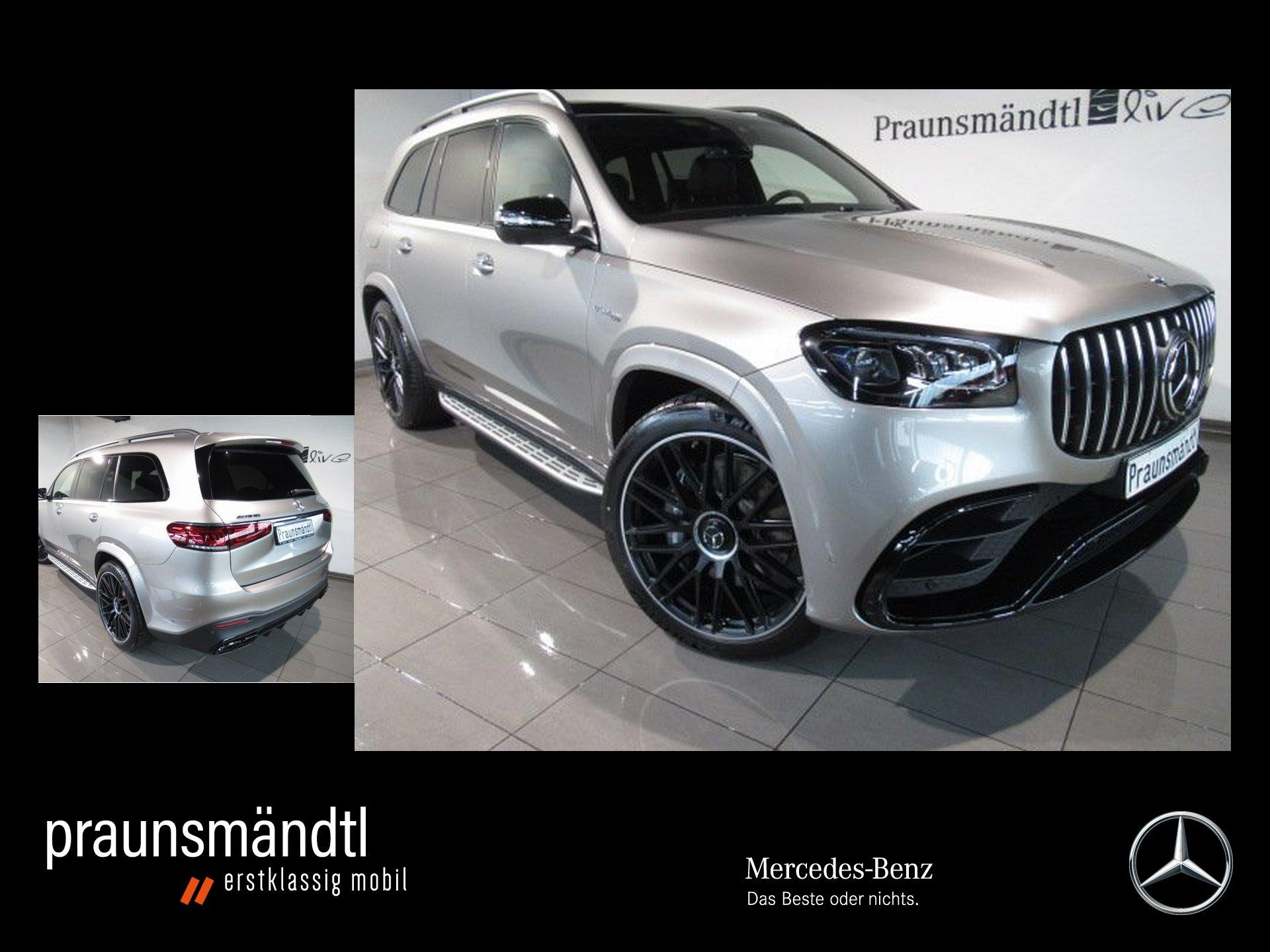 Mercedes-Benz AMG GLS 63 Carbon/Night/Vmax/Headup/3D-Sound/TV, Jahr 2020, Benzin