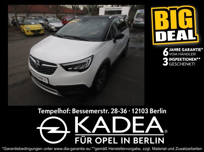Opel Crossland 1.2 Selection IntelliLink Tempomat, Jahr 2019, Benzin